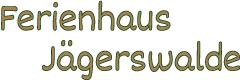 Logo Ferienhaus Jägerswalde Güstrow OT Klueß